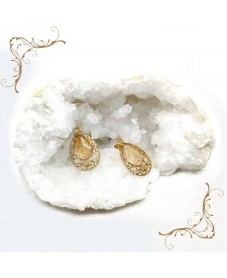 Boucles d'oreille orientales