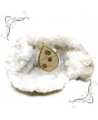 Ancient drop pendant