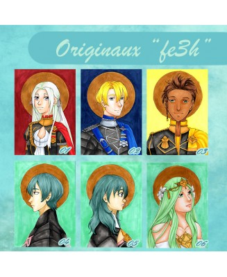 Portraits Fire Emblem Three Houses