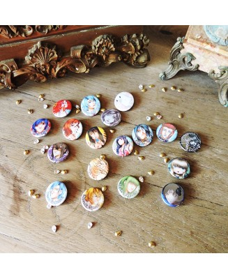 Badges 32mm