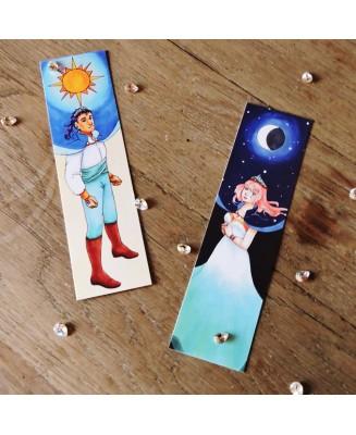 """Bookmark """"Les Chroniques de Meln"""""""
